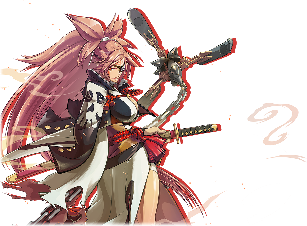 guilty gear xrd rev 2 baiken guide